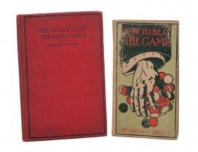 Brown, Garrett. The Autocrat of the Poker Table. 1916