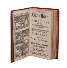 Cotton, Charles. The Compleat Gamester, 1680
