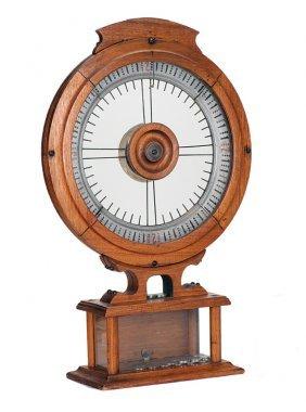 Fairest Wheel Five Cent Cigar Trade Stimulator. ca.1895
