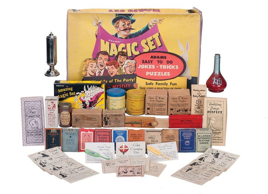 3. Over 700 S.S. Adams Magic and Novelty Products.
