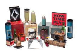 Group of 14 miscellaneous vintage magic tricks