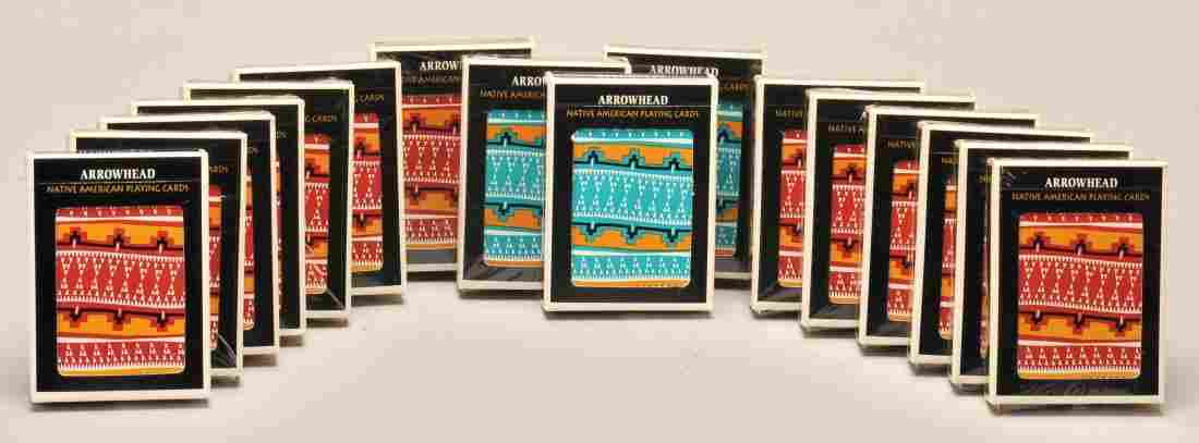 16 Decks Arrowhead Playing Cards. Gemaco Playing Card