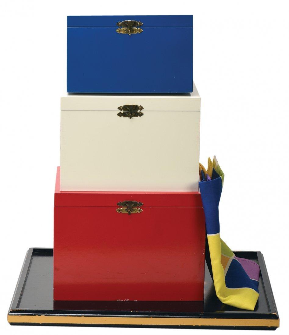 Banner Nest of Boxes. Asuza, Owen Magic Supreme.