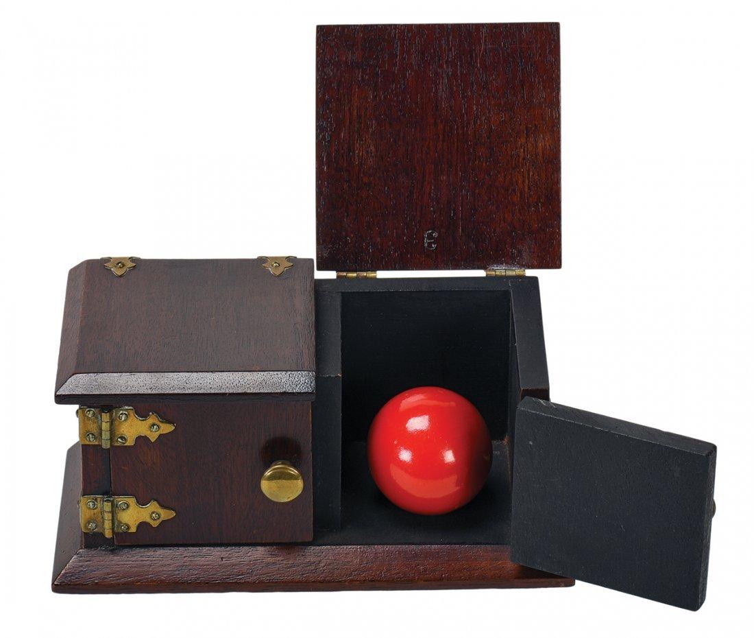 Billiard Ball Box. Los Angeles, F.G. Thayer, ca. 1925.