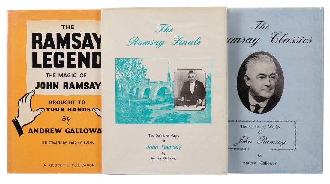 Galloway, Andrew. The Magic of John Ramsay Trilogy.