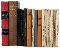 Goldston Will Lot of fifteen books by or published by
