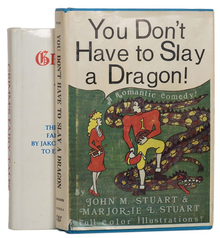 2 book tests. Including You Don't have to slay a dragon