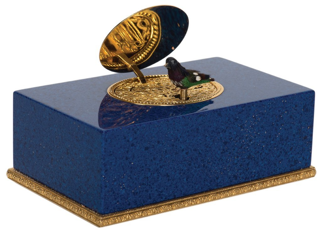 Singing Bird Box Automaton. Switzerland, Charles Reuge,