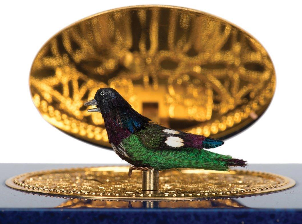 Singing Bird Box Automaton. Switzerland, Charles Reuge, - 3
