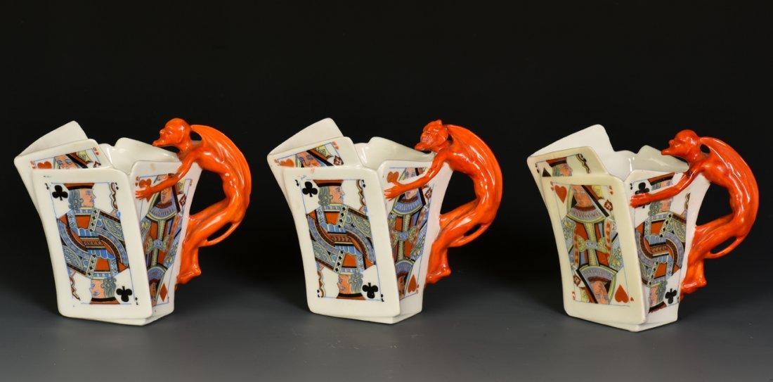 Three Devil & Card Creamers. Bayreuth, Bavaria: Royal