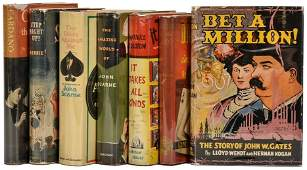 [Miscellaneous] Group of seven vintage books on