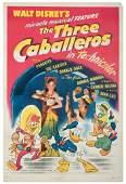 The Three Caballeros. RKO, 1945. One-sheet (27 ¼ x