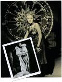 Dietrich Marlene Glamor Photograph Signed by Marlene