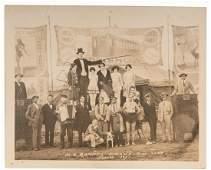 Al G. Barnes Circus Sideshow Photo. 1927. Original 8 x