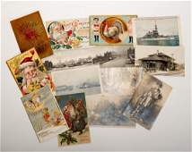 764 Two Albums of Early Twentieth Century Postcards