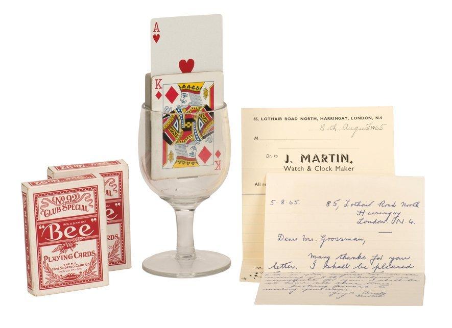 Rising Card Machine. London, John Martin, 1965.