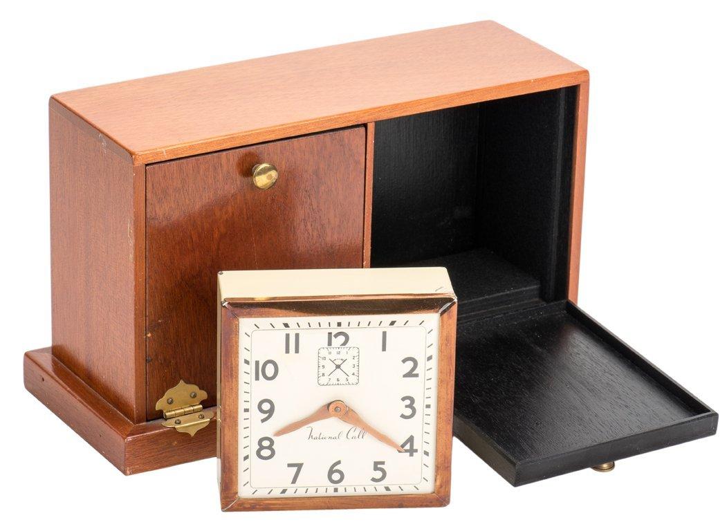 Sliding Clock Box. Alhambra, Owen Magic Supreme, ca.