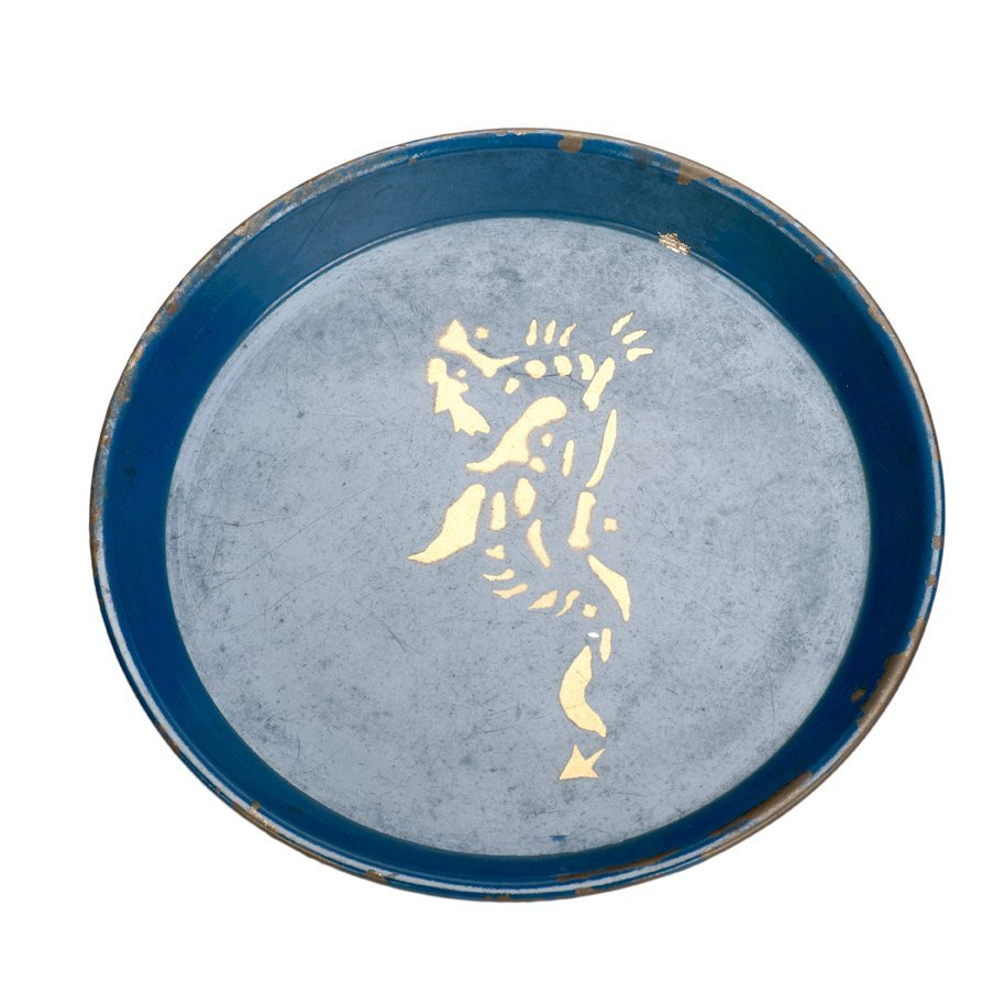 Coin Tray. New Haven, Petrie & Lewis (P&L), ca. 1950.