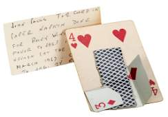 [Le Paul, Paul and Johnny Paul] Cards Owned and Used by