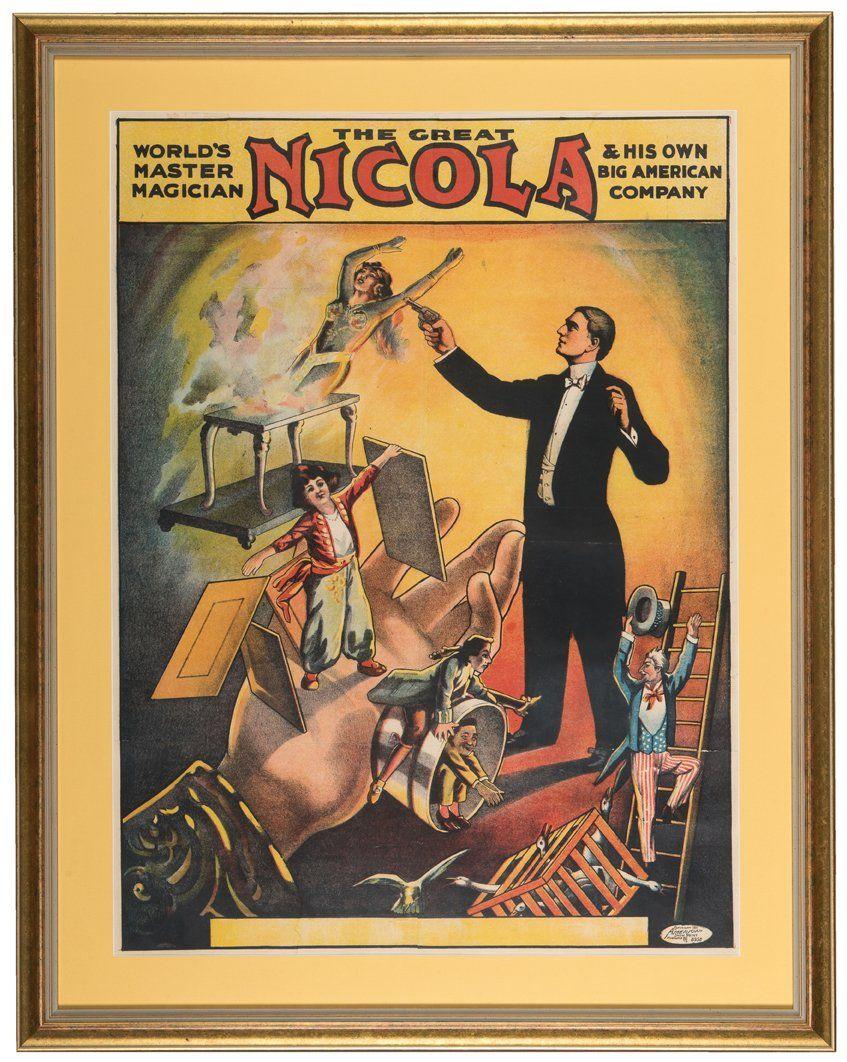 Nicola (William Mozart Nicol). WorldÕs Master Magician.