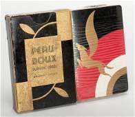 Cardini. Cardini's Gold Peau Doux Playing Cards.
