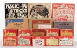 Sherms Collection of Over 40 Vintage Sherms Magic
