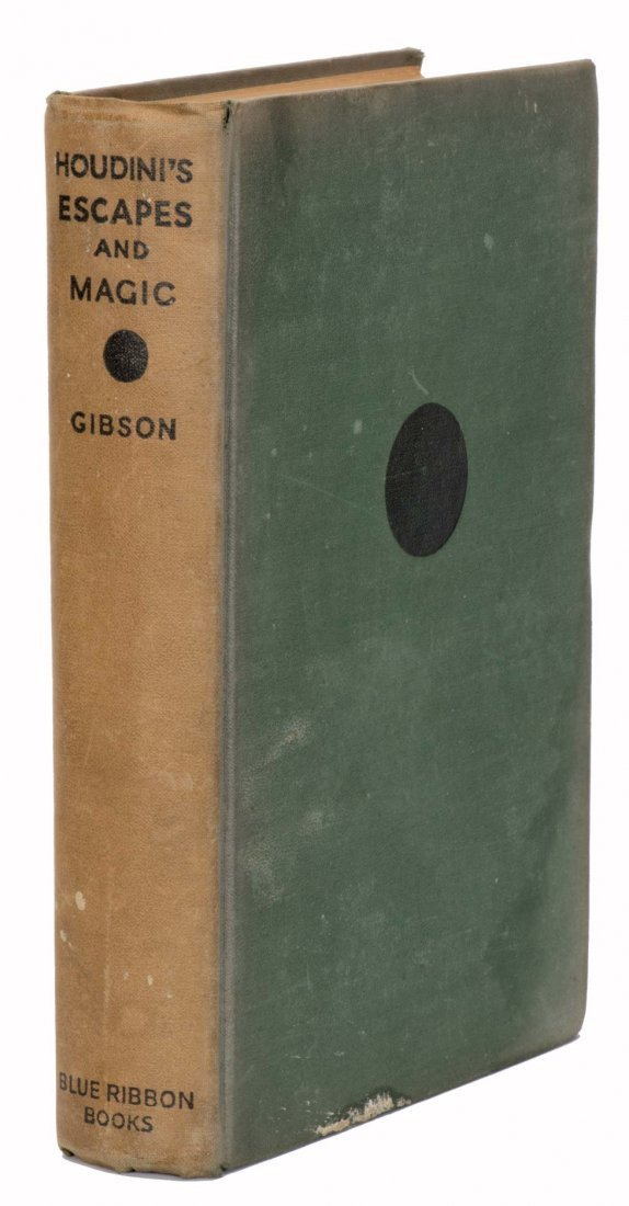 Gibson, Walter. Houdini's Escapes and Magic. New York,