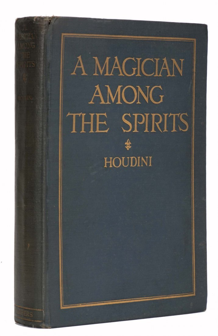 Houdini, Harry. A Magician Among the Spirits [Signed