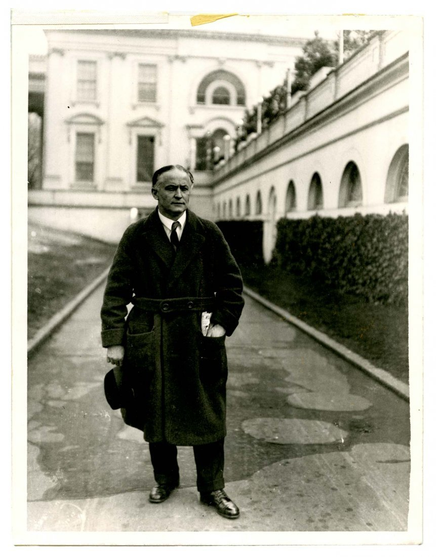 Houdini, Harry. Full Length Photograph of Houdini.