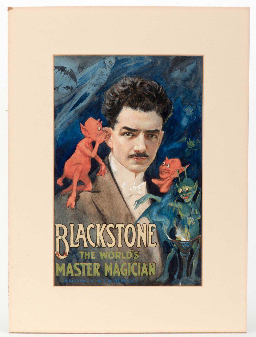 Blackstone, Harry. The World's Master Magician. (Artist