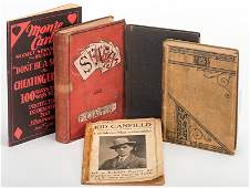 [Cheating and Expos] Group of Five Vintage Books and