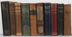 [crime] Shelf Of 10 Nineteenth Century Books On Crime