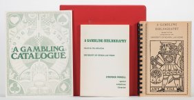Powell, Stephen. A Gambling Bibliography. Las Vegas: