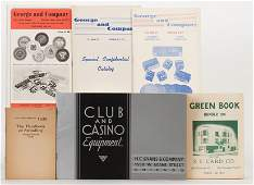 [Miscellaneous] Group of Five Vintage Gambling Supply