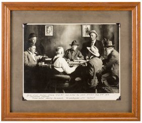 """Vintage """"poker Alice"""" Photograph. Lead, S.d.: Peterson"""