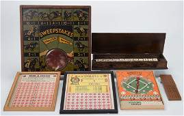 Group of Miscellaneous Gambling Related Items