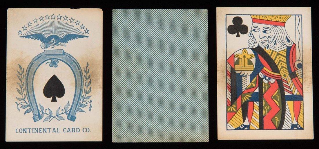 Continental Card Co. Faro Playing Cards.  Philadelphia: