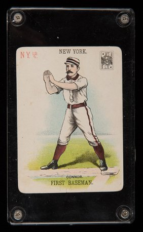 Roger Connor Baseball Card Co. Playing Card. New York,