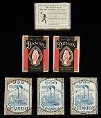 Six Magic Playing Card Decks Including four mint