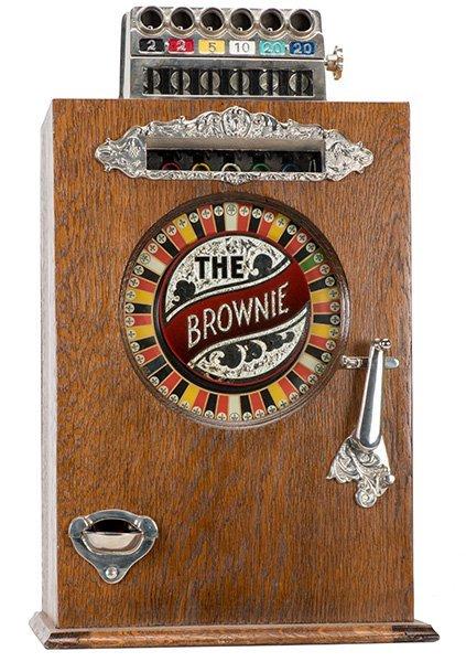 Watling Five Cent Brownie Slot Machine. Chicago:
