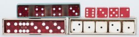Four Boxes Of Gaffed And Straight Dice. Including High