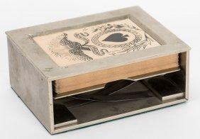 Mason & Co. Makers Faro Dealing Box #257 & Partial (50