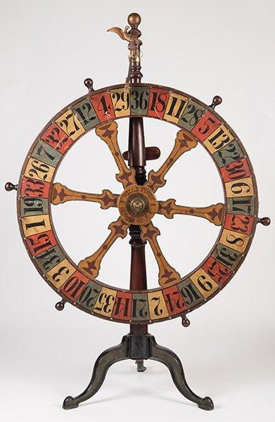 Will & Finck Gambling Wheel. San Francisco, 818 Market