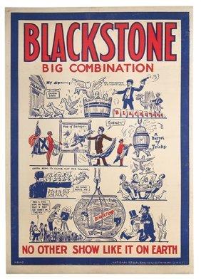 Blackstone, Harry (henry Boughton). Blackstone. Big