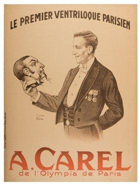 Carel, A. Le Premier Ventriloque Parisien. A. Carel.