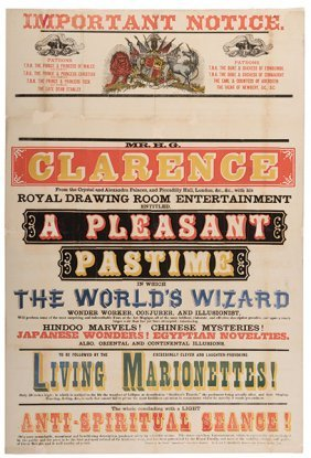 Clarence, H.g. A Pleasant Pastime. Darwen: R. & H.t.