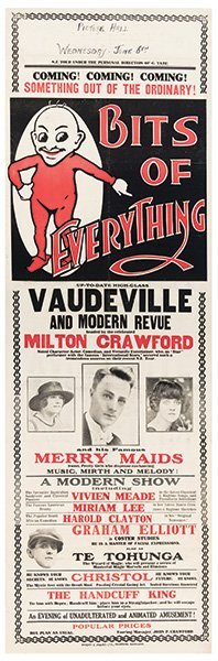 Crawford, Milton. Bits Of Everything. Vaudeville And