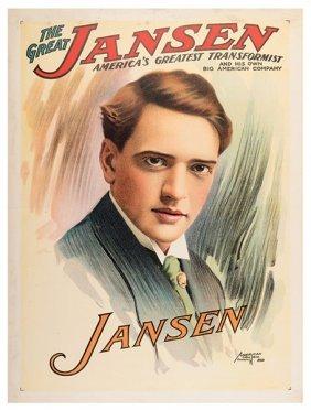 Jansen, Harry. The Great Jansen. Milwaukee: Great