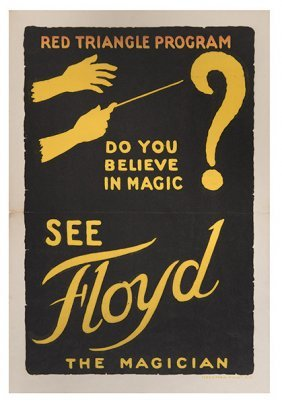 Floyd, Walter. Do You Believe In Magic? See Floyd The