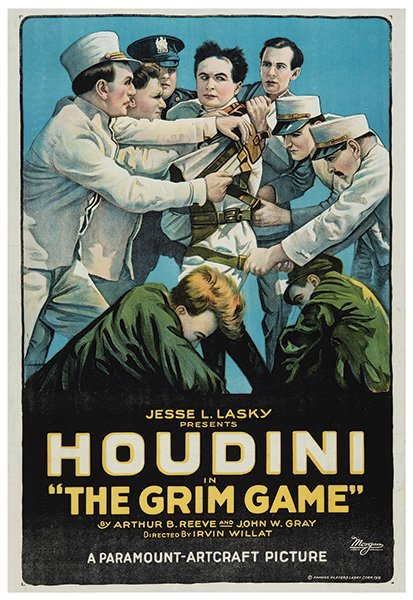 Houdini, Harry (Ehrich Weisz). Houdini In The Grim